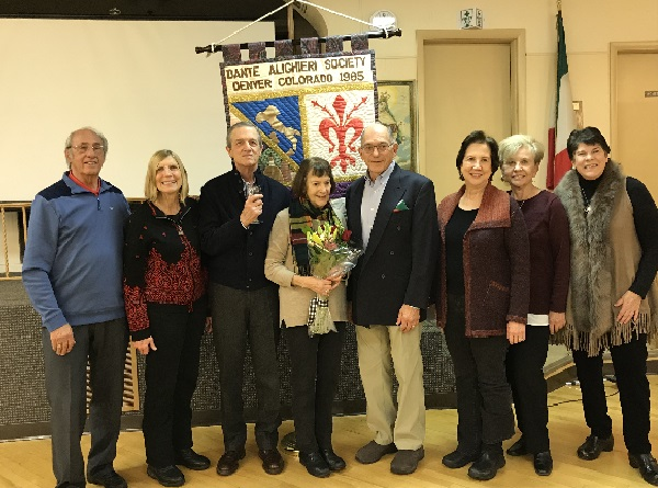 Dante Alighieri of Denver Elected and Appointed Officers 2019-2020
