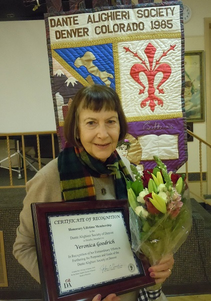 Veronica Recognized