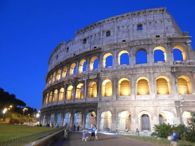 Dante Denver shares interest in Italy's historic landmarks